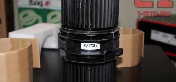 Вентилятор печки Reno fluence
